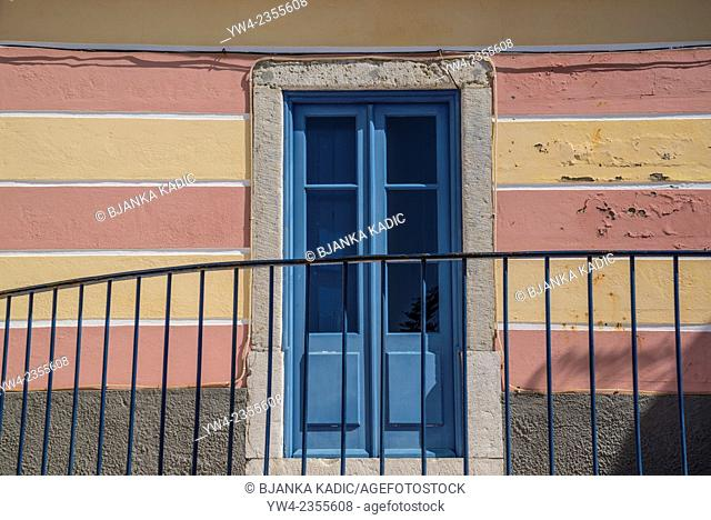 Blue door, Cascais, Portugal