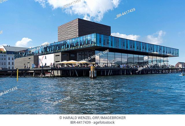 Royal Danish Playhouse, inner harbour, architects Lundgaard and Tranberg, Copenhagen, Denmark