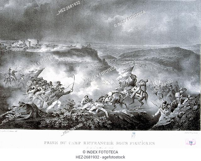 Reign of Charles IV (1748-1819), taking of Figueras (Girona) by French troops on 17th November 17?