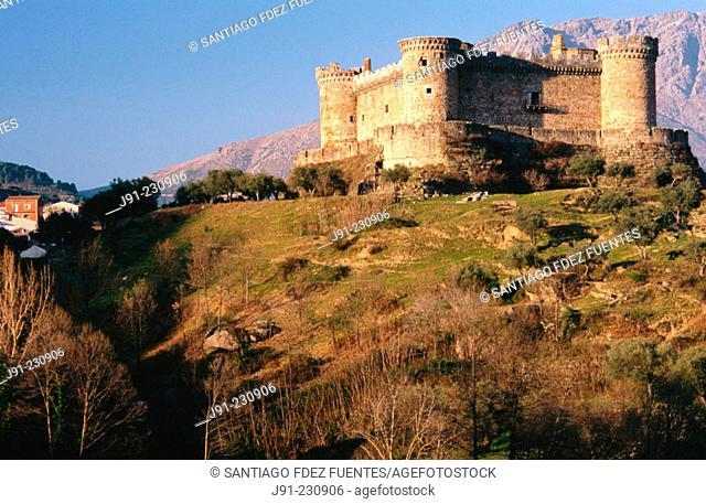 Castle, Mombeltrán. Ávila province. Spain