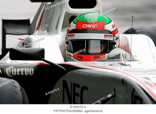 Friday Practice 2, Sergio Pérez MEX, Sauber F1 Team C30, F1, Korean Grand Prix, Yeongam, Korean