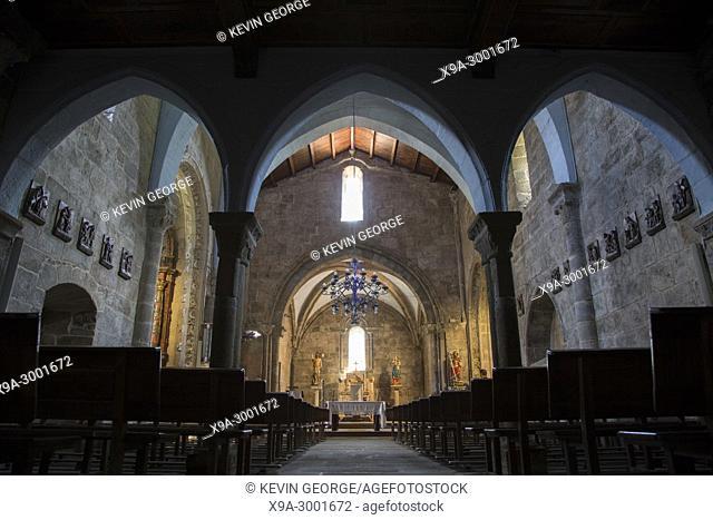 Santa Maria Areas Church, Finisterre; Costa de la Muerte; Galicia; Spain