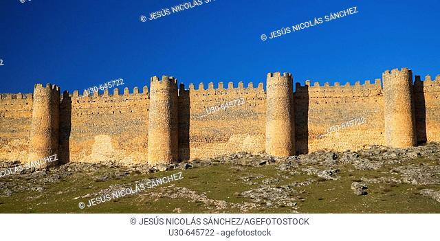 Castle, Berlanga de Duero. Soria province, Castilla-León, Spain