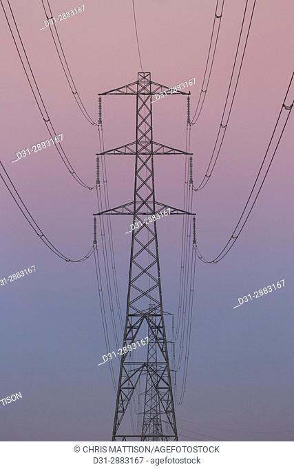 Electricity pylon, Newport, Gwent