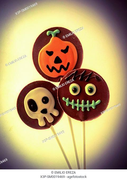 Halloween's lollypops