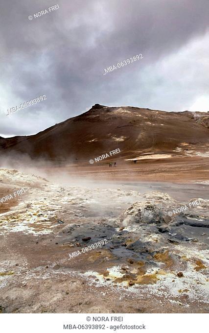 Námafjall, mountain, volcano, Iceland
