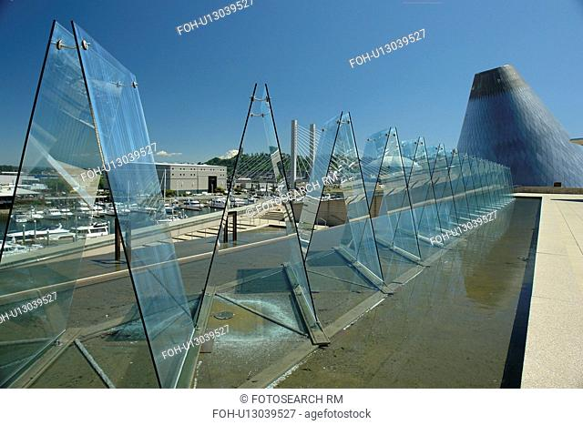 Tacoma, WA, Washington, Museum of Glass, downtown