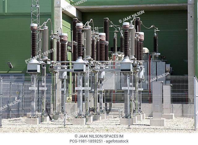 Electric Power Plant Coils