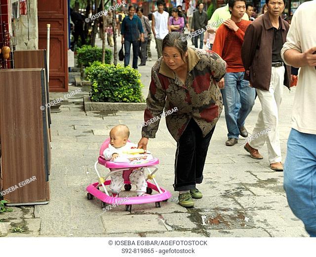 Grandmother, China