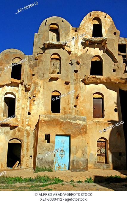 Ksar Ouled Soultan, traditional Berber architecture, Tunis