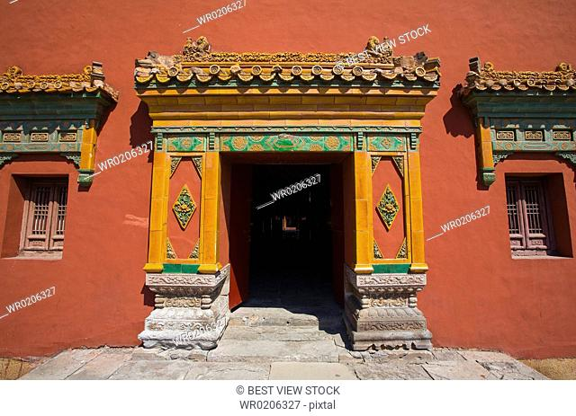 Architectures in the Temple of the Potaraka Doctrine,Chengde