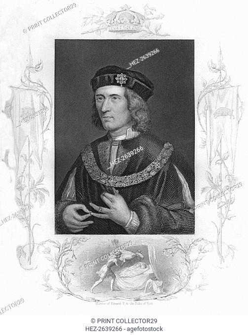 'Richard III', 1859. Artist: GN Gardiner