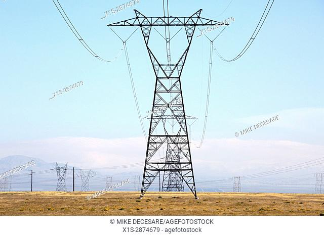 Transmission Towers carry high voltage electricity across great distances