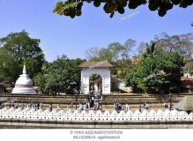 Sri Lanka, Kandy, Royal Palace