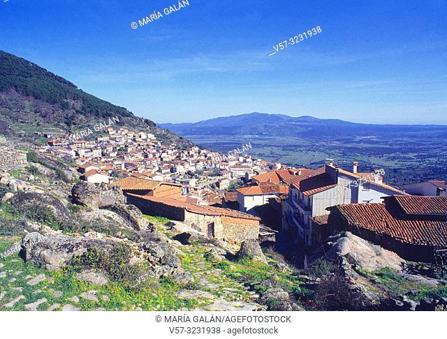 Overview. Pedro Bernardo, Avila province, Castilla Leon, Spain