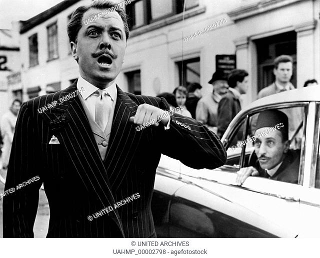 Junger Mann aus gutem Hause, (I'M ALL RIGHT, JACK) GB 1959, Regie: John Boulting, IAN CARMICHAEL (li), Stichwort: Bart