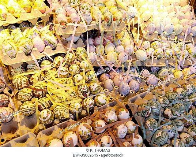 Vienna, Easter market at Schoenbrunn castle, Austria, Vienna, 13. district, Vienna - Schoenbrunn
