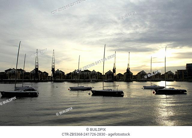 Royal Victoria Docks, East London, UK