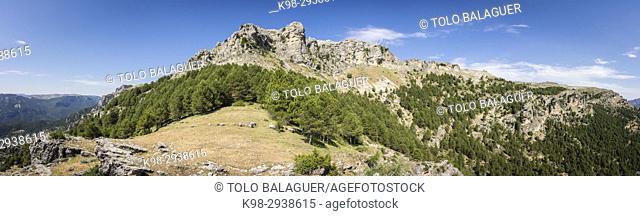 Loma del Calar de Cobo y Puntal de Misa, 1796 metros, Parque Natural de las Sierras de Cazorla, Segura y Las Villas, provincia de Jaén, Spain
