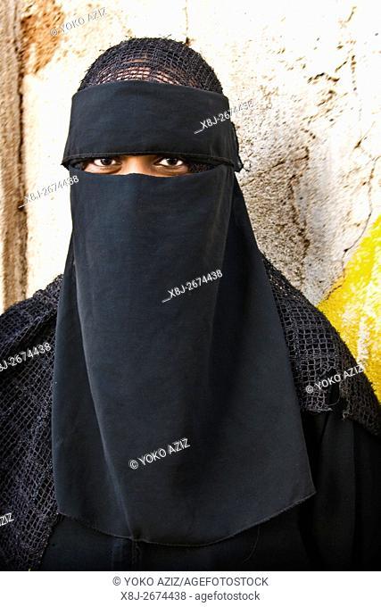 Woman, Massawa, Eritrea