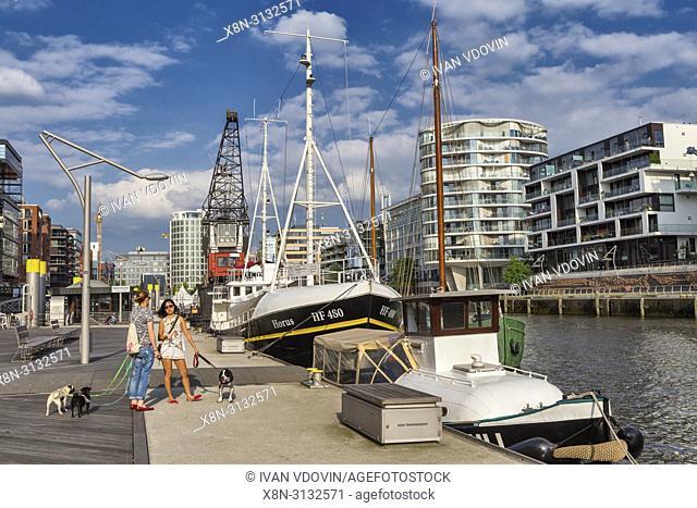 Speicherstadt, City of Warehouses, Hamburg, Germany