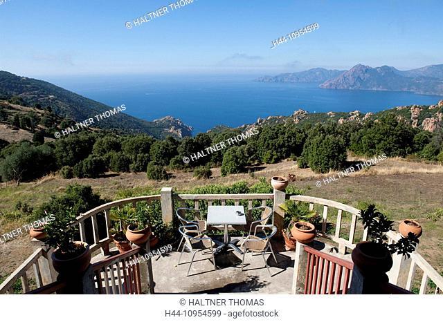 France, Europe, Corsica, Le Calanche de Piana, Piana, Roches blushers, west coast
