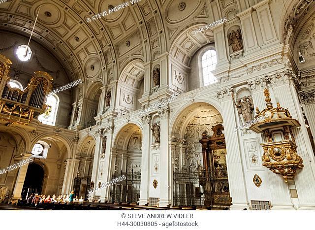 Germany, Bavaria, Munich, Neuhauser Strasse, Church of St.Michael