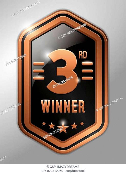 Third winner bronze badge