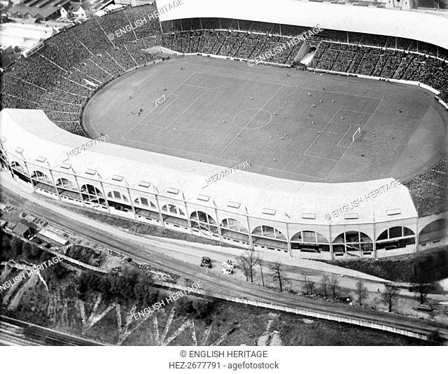 FA Cup Final, Wembley Stadium, London, 1925. Artist: Aerofilms