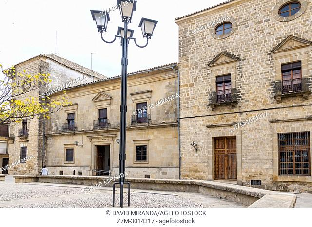 Palacio de las Cadenas or de Vázquez de Molina. Town Hall of Ubeda. Jaén. Andalusia. Spain