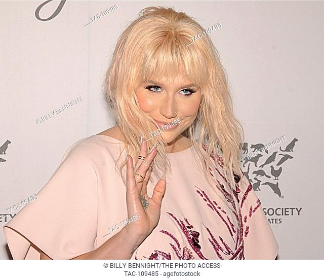 Ke$ha arrives at The Humane Society Of The United States' To The Rescue Gala at Paramount Studios Stege 16 on May 7, 2016