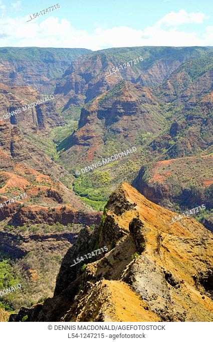 Waimea Canyon Kauai Hawaii Grand Canyon of the Pacific