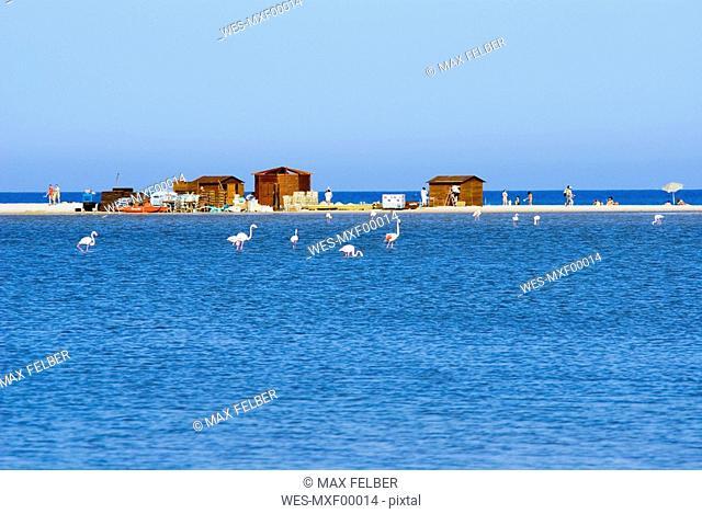 Italy, Sardinia, beach