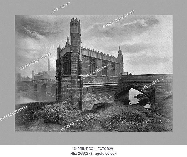 St. Mary's Chantry, Wakefield c1900. Artist: G & J Hall