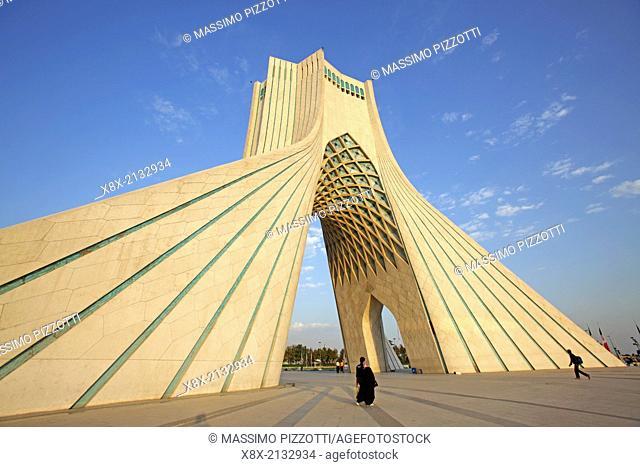 Azadi Tower, or Freedom Tower, Tehran, Iran