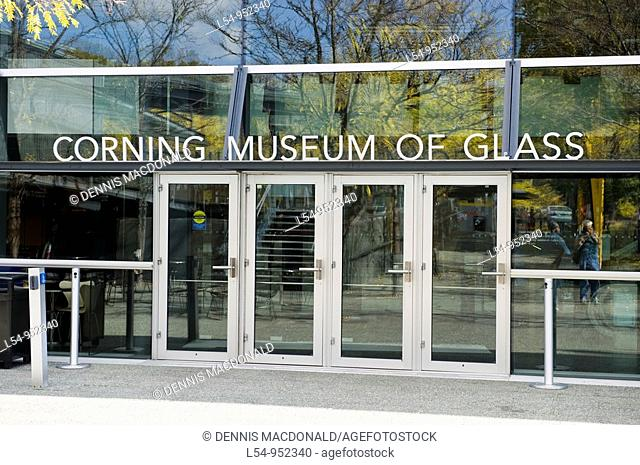 Museum of Glass Corning New York Finger Lakes Region