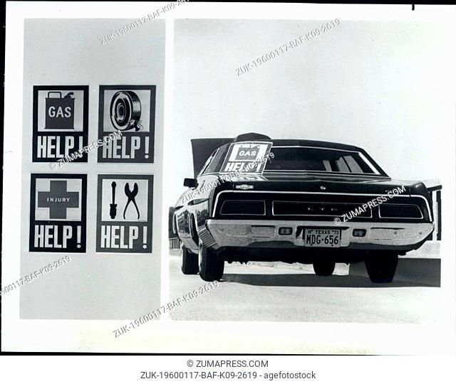 1956 - Help Signs for the car (Credit Image: © Keystone Pictures USA/ZUMAPRESS.com)