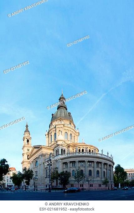 St Stefan's basilica in Budapest, Hungary