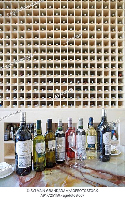 Marques de Riscal winery, Elciego, Rioja alavesa. Alava, Basque Country, Spain