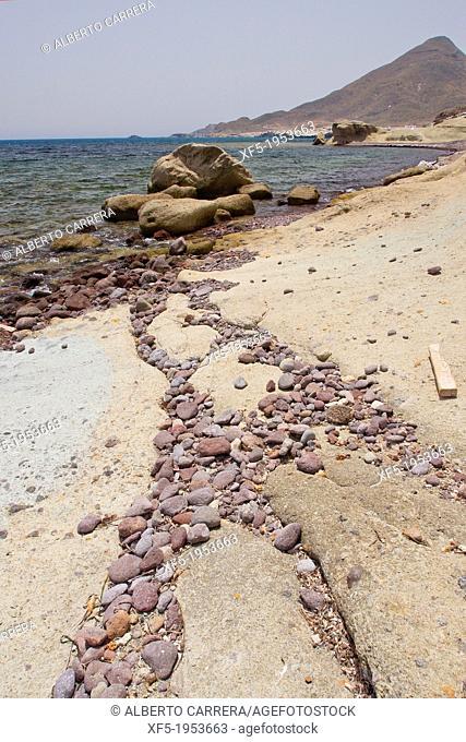 Los Escullos, Cabo de Gata-Nijar Natural Park, Biosphere Reserve, Almeria, Andalucia, Spain, Europe