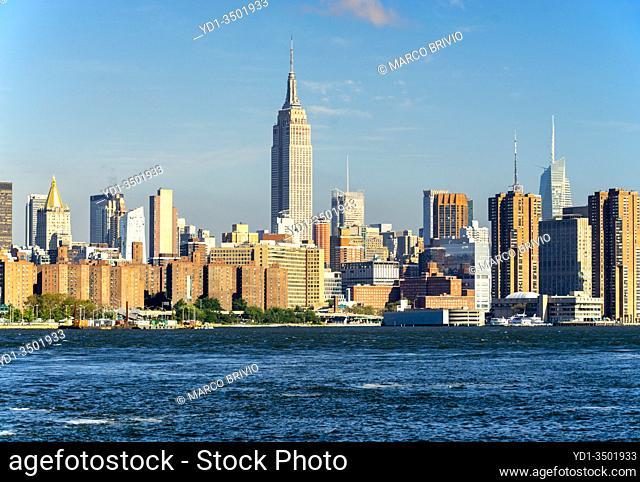 New York. Manhattan. Panorama from Williamsburg