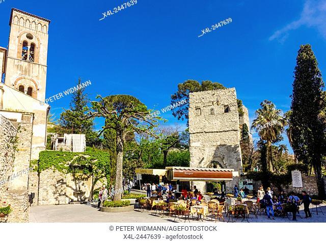 Ravello, Amalfitana, Amalfi coast, Italy, Villa Rufolo