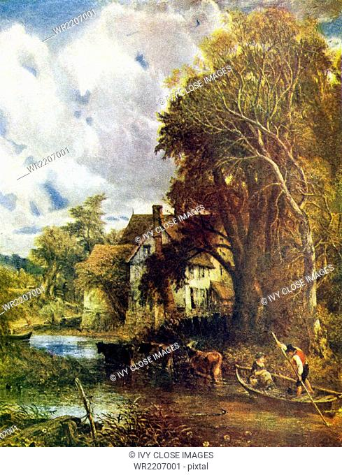 John Constable (1776–1837) was an English Romantic painter, who is best known for his depictions of Dedham Vale, the area around his home