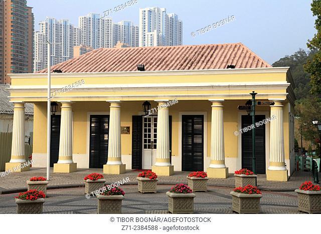 China, Macau, Taipa, Registo Civil, portuguese colonial architecture