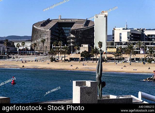 Olympic port of Barcelona, Catalonia, Spain