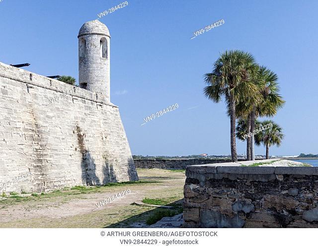 Castillo de San Marcos National Monument, St Augustine FL, USA
