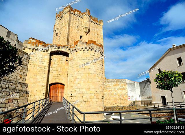 Castle of Coria, Caceres, Spain