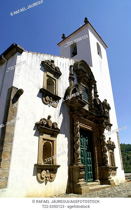 Braganza (Portugal). Exterior of the Church of Santa Maria or Matriz de Braganza Church