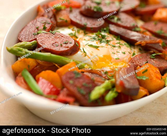 casserole, egg meal
