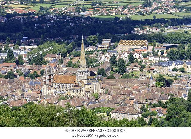 Saint-Lazare cathedral Autun Saone-et-Loire Bourgogne-Franche-Comte France